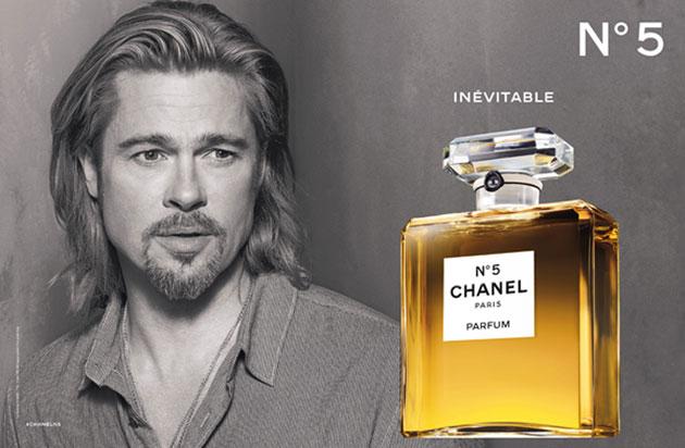 Chanel escolhe Brad Pitt para promover o perfume nº5