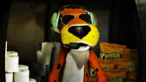 Cheetos Tiger Halloween 2013 Toilet Paper Project