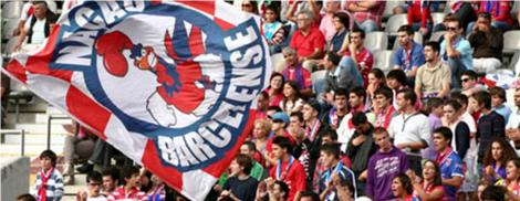 Massa associativa de adeptos do Gil Vicente FC.
