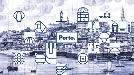 Imagem visual da cidade do Porto